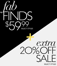 Coupon for: Nine West, Fab finds + Extra discount