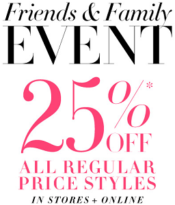 Coupon for: BCBGMAXAZRIA, Friends & Family Event