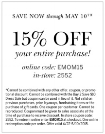 Coupon for: dressbarn, get discount on your purchase