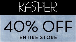 Coupon for: Kasper Outlets, Spring Stock-Up