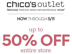 Coupon for: Chico's Outlets, Everything's On Sale