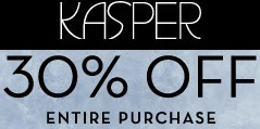 Coupon for: Kasper Outlet Stores, Discount on entire purchase