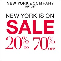 Coupon for: New York & Company, Premium Outlets, Huge Sale