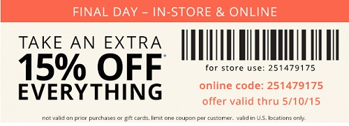 Coupon for: Payless ShoeSource, Happy Mother's Day