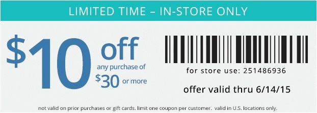 Coupon for: Payless ShoeSource, Save with Sale coupon