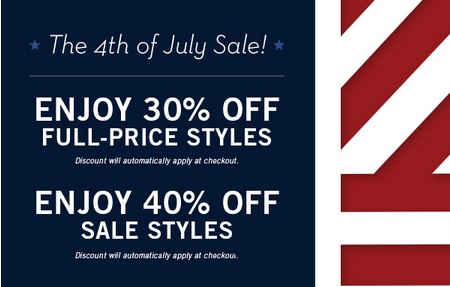 Coupon for: Perry Ellis, 4th of July Sale ...