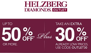 Coupon for: Helzberg Diamonds Outlet, Special Outlet Sale
