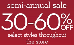 Coupon for: The Semi-Annual Sale from Chico's Outlets