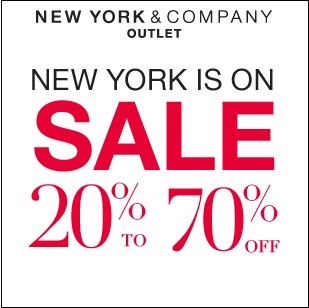 Coupon for: New York & Company, Premium Outlets, Amazing savings