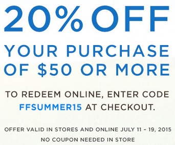 Coupon for: Crabtree & Evelyn Outlets, Friends & Family Event