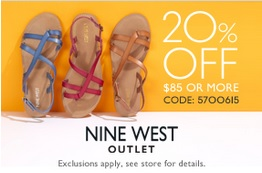Coupon for: Nine West Outlet Stores at Tanger Outlets, Sale coupon