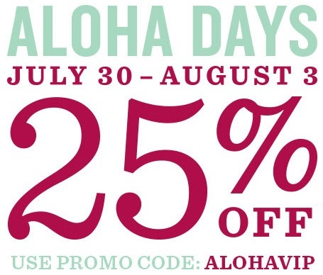 Coupon for: Aloha Days at Tommy Bahama Outlet Stores
