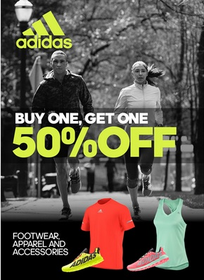 Coupon for: adidas Outlet Stores, Buy one, get one ...