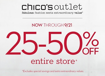 Coupon for: Chico's Outlets, Find everything you need for Fall ...