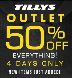 Coupon for: Tilly's, Enjoy savings at outlet section ...