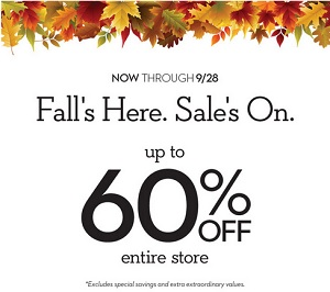 Coupon for: Fall Favorites on sale at Chico's Outlets