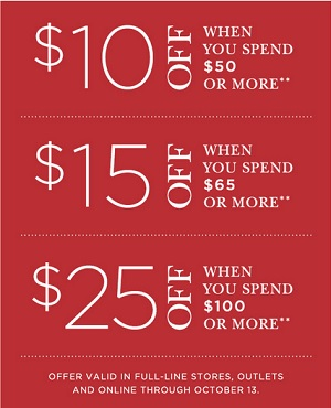 Coupon for: Crabtree & Evelyn Outlet Stores, Buy more, save more ...
