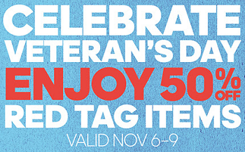 Coupon for: Celebrate Veteran's Day and save at adidas Outlet Stores ...