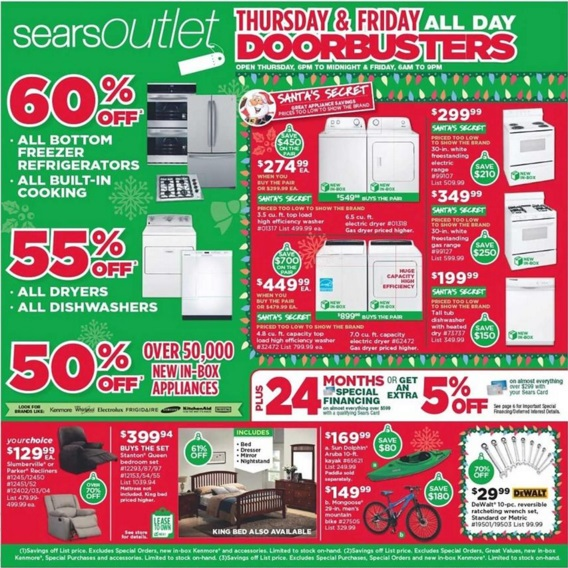 Coupon for: Sears Outlet, Black Friday Sale 2015 ...