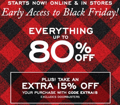 Coupon for: G.H. Bass & Co. Factory Outlets, Early access to Black Friday ...
