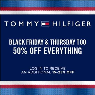Coupon for: Tommy Hilfiger Black Friday Sale & Premium Outlets ...