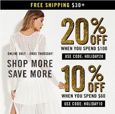 Coupon for: Forever 21, Shop more, save more ...