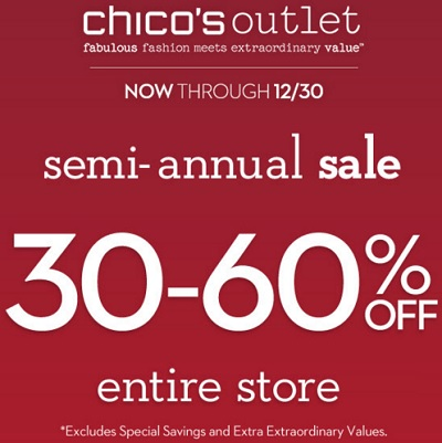 Coupon for: Chico's Outlets & Semi-annual Sale 2015 ...