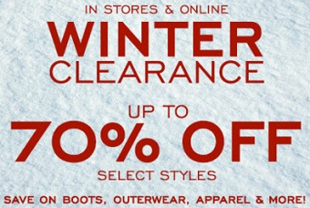 Coupon for: G.H. Bass & Co. Factory Outlet Stores, Winter Clearance ...