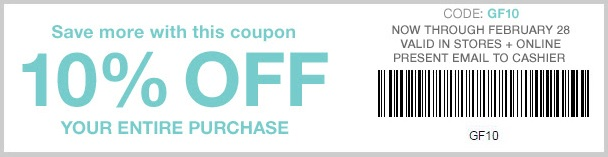 Coupon for: Save money with printable coupon at Gap Factory