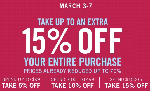 Coupon for: Save big at Zales Outlets