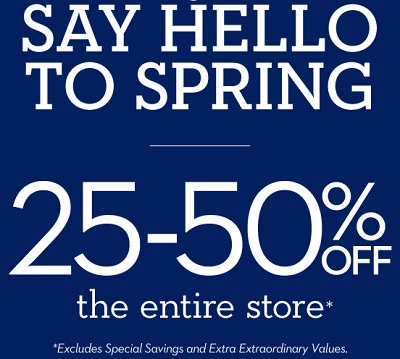 Coupon for: Sping Sale 2016 is on at Chico's Outlets