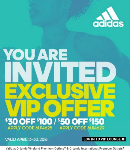 Coupon for: VIP offer from Orlando Premium Outlets