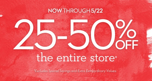 Coupon for: Summer Savings at U.S. Chico's Outlets