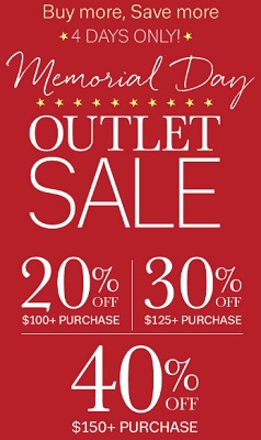 Coupon for: Outlet Sale at Coldwater Creek