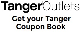 Coupon for: Shop with coupon book at Tanger Outlets