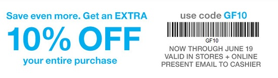 Coupon for: Father's Day Sale at Gap Factory