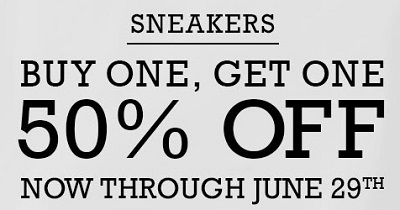 Coupon for: BOGO Sale at Converse Factory