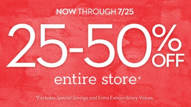 Coupon for: Must-Haves at U.S. Chico's Outlets
