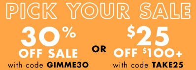 Coupon for: Pick your Sale at Nine West online