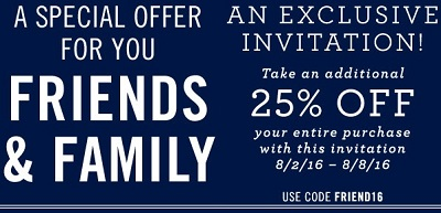 Coupon for: Exclusive savings at Nautica Factory