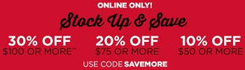 Coupon for: Stock up & save at Aéropostale