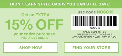 Coupon for: Print the coupon and save money at Gap Factory