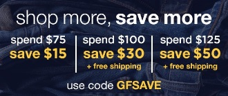Coupon for: Shop more, save more at Gap Factory online