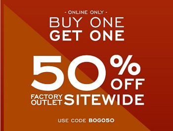 Coupon for: Sitewide Sale G.H. Bass & Co. Factory Outlet online