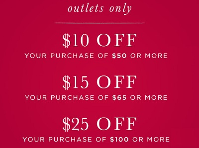 Coupon for: Columbus Day Savings at Crabtree & Evelyn Outlets