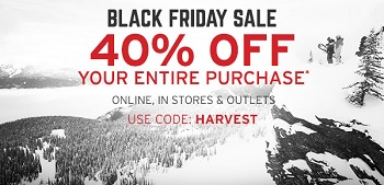 Coupon for: Black Friday Sale just started at Eddie Bauer outlet stores and online