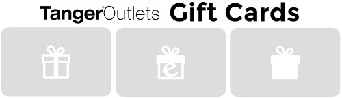Coupon for: How to buy Tanger Outlets Gift Cards