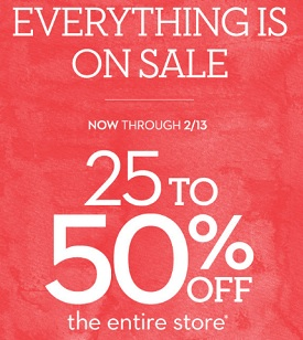 Coupon for: U.S. Chico's Outlets Deal: Everything is on sale