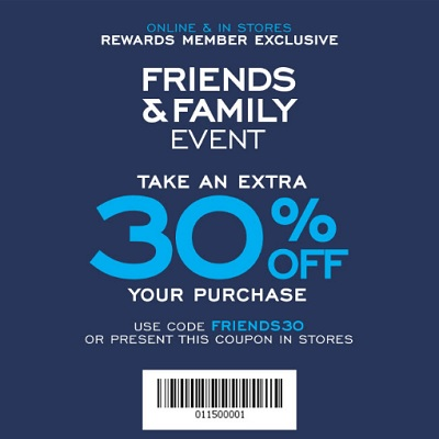 Coupon for: G.H. Bass & Co. Factory Outlet: Friends & Family Sale