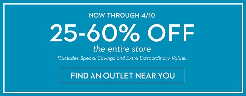 Coupon for: Spring sale is going on at U.S. Chico's Outlets